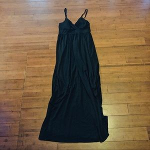 Allison Brittney Long Black Dress